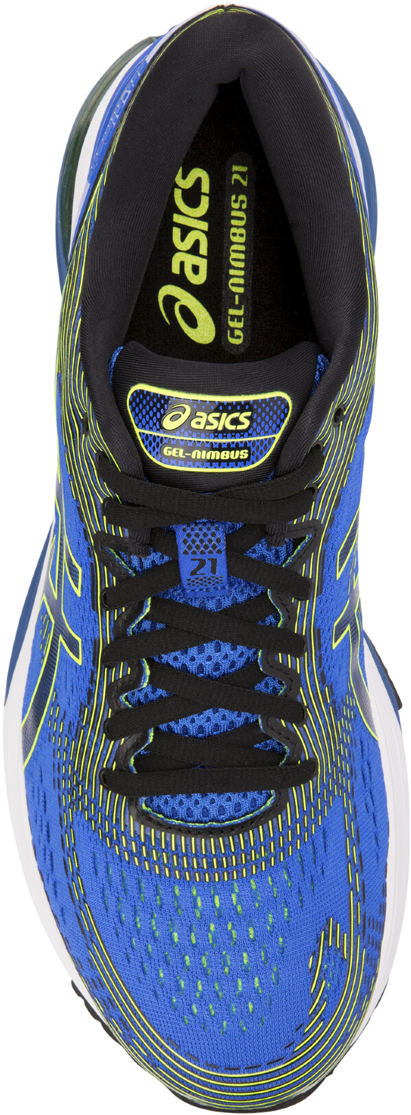 asics Gel-Nimbus 21 scarpe da corsa Uomo blu nero su Bikester 2120cc7b89c